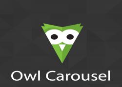 اسلایدر واکنش گرا در دروپال با Owl Carousel