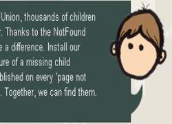 صفحات ۴۰۴ راه حلی برای پیدا کردن کودکان گم شده!